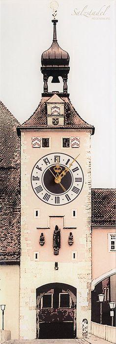 Passauer Dom Wanduhr - Die Kult-Uhr für Passau Wohnzimmer - wanduhr design wohnzimmer