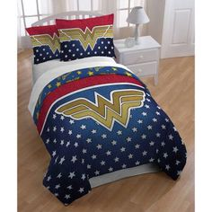 34 Fascinating Superhero Theme Bedroom Decor Ideas - Is your little boy crazy about superheroes? Then why not decorate their bedroom and turn into his favorite superhero. There are lots of ways that you . Woman Bedroom, Girls Bedroom, Master Bedroom, Bedrooms, Queen Size Bedding, Comforter Sets, Duvet, Bedroom Themes, Bedroom Decor