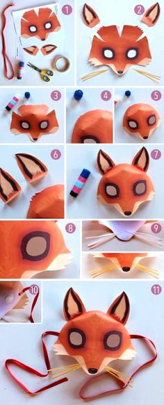 Foxy mask by Happythought