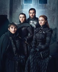 Game Of Thrones Dress, Game Of Thrones Poster, Game Of Thrones Dragons, Game Of Thrones Tv, Sansa Stark, Maisie Williams Sophie Turner, Stark Family, Isaac Hempstead Wright, Michelle Fairley