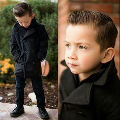 Boys fashion, boys hairstyle, kid fashion