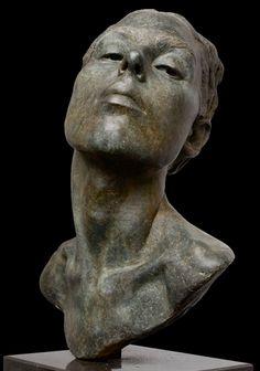 lotta blokker via Sandra Angelozzi Sculpture Head, Bronze Sculpture, Photo Sculpture, Florence Academy Of Art, Musée Rodin, Portrait Art, Sculpture Portrait, Portraits, Traditional Sculptures