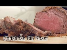 Simple Steps to the Perfect Holiday Rib Roast | Have you ever eaten $30 slice of Prime Rib at a high end restaurant? Have you marveled at how the savory bark on the outside contrasted with the tender perfectly pink end-to-end interior meat? Well, now you can have that experience at home. Don't be intimidated by the cost. Perfect Prime Rib is all about careful temperature control and we've got you covered.
