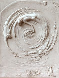Ficino relief sculpture by Tanya Russell