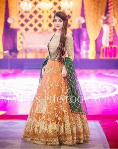 Asian Wedding Dress, Pakistani Wedding Outfits, Wedding Dresses For Girls, Pakistani Wedding Dresses, Party Wear Dresses, Pakistani Mehndi Dress, Fancy Dress Design, Bridal Dress Design, Bridal Mehndi Dresses