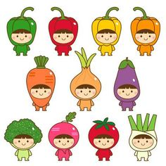 Find Set Kids Cute Vegetables Costumes stock images in HD and millions of other royalty-free stock photos, illustrations and vectors in the Shutterstock collection. Thousands of new, high-quality pictures added every day. Disney Characters Costumes, Cute Characters, Kawaii Drawings, Cute Drawings, Griffonnages Kawaii, Vegetable Costumes, Fruit Costumes, Wooden Keychain, Kawaii Doodles