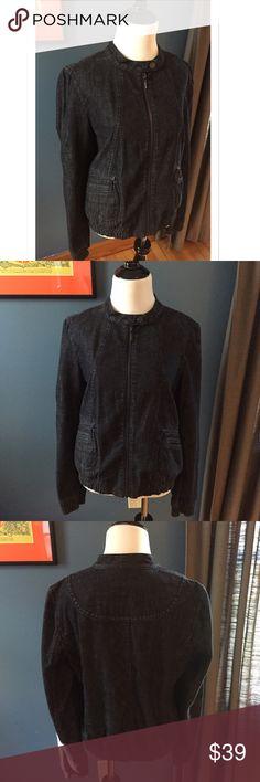 Selling this Ann Taylor Denim Bomber Jacket on Poshmark! My username is: davias_closet. #shopmycloset #poshmark #fashion #shopping #style #forsale #Ann Taylor #Jackets & Blazers