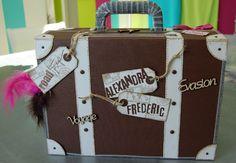 DSC_9077 Suitcase, Wedding, Inspiration, Mai, Celine, Scrap, Images, Events, Decoupage Suitcase