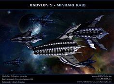 BABYLON 5 - Minbari Raid by ulimann644.deviantart.com on @deviantART