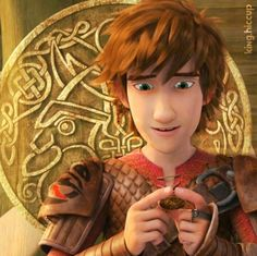 Hiccup's betrothal gift for Astrid. MY FEELS!!!