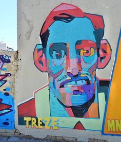 Murals Street Art, Graffiti Murals, Street Art Graffiti, Basquiat Paintings, Human Art, Art Sketchbook, Art Inspo, Character Art, Cool Art