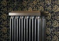 Very rare Double Church radiator pat'd on October 1895 shown here in a polished finish. This radiator has been fully restored and is ready to go. Old Radiators, Cast Iron Radiators, Furniture Decor, Restoration, Old Things, October, It Is Finished, Home Appliances
