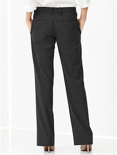 Checkered perfect trouser pants | Gap