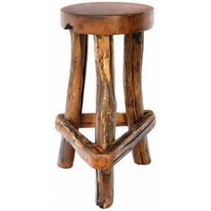 Sawtooth Bar Chair | Rustic Bar Stools | Antlers Etc - Rustic Cabin, Lodge & Hunting Decor