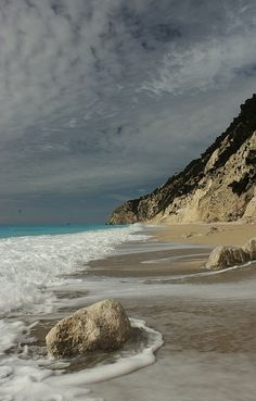 Egremni Beach, Lefkada Island...I love this beach...it is quite a hike ...but once you reach the bottom....it is heaven!!!