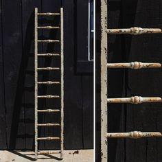 TALL Distressed Display Ladder