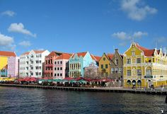 How cool are these buildings in Curacao?
