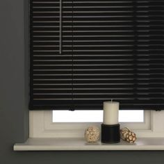 C Aluminium Black Venetian Blind available to buy online from Harry Corry, a specialist of curtains and bedding. Window Blinds & Shades, Vertical Window Blinds, Blinds For Windows, Aluminum Blinds, Aluminium Windows, Black Decor, White Decor, Green Master Bedroom, Teen Bedroom
