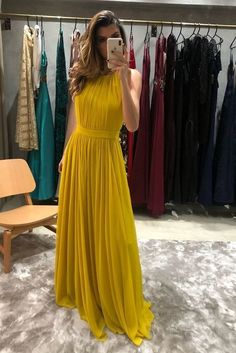 Pin by sharon on cute dresses elbiseler, elbise modelleri, giyim Prom Girl Dresses, A Line Prom Dresses, Bridesmaid Dresses, Formal Dresses, Dress Girl, Maxi Dresses, Party Dresses, Chiffon Evening Dresses, Evening Gowns