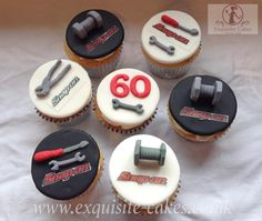 Mechanics tool cupcakes - Cake by Natalie Wells