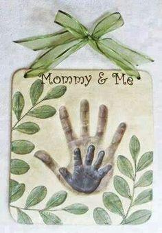 Playdough bake plaque