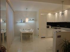 Белая квартира в скандинавском стиле. Квартира-студия