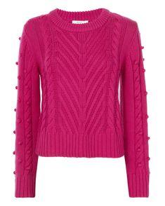 ALC Aubry Pom-Pom Knit Sweater