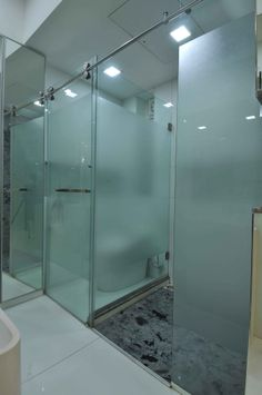modern bathroom with glass wall modern bathroom design ideas pinterest glass walls glasses and projects - Bathroom Designs In Mumbai