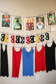 Each guest received  a mask and a cape to take home.  I made the capes by following this   tutorial- they were SUPER easy, ...