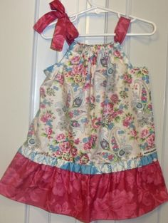 Baby Pillowcase Dresses