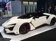 We've seen W Motors' Fenyr SuperSport concept for a couple years, and a prototype was at the Shangha. Dream Cars, Exotic Sports Cars, Exotic Cars, Lykan Hypersport, Best Luxury Cars, Supersport, Sweet Cars, Performance Cars, Car Car