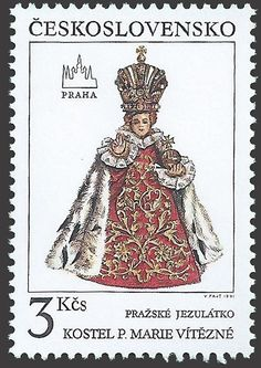 Holy Infant of Prague Infant Of Prague, My Roots, European Countries, Bratislava, My Heritage, Stamp Collecting, Czech Republic, Postage Stamps, Amber