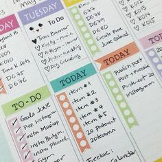 Amazing Printable Planner Stickers for your planner. print as many as you need at home and save money. http://partymazing.com/plannercute/
