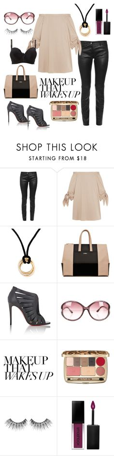 """A girl should be two things: classy and fabulous."" by noa-antebi-pinto on Polyvore featuring Balenciaga, TIBI, Cartier, Christian Louboutin, Tom Ford, Dolce&Gabbana, MAKE UP FOR EVER, Smashbox and Charlotte Russe"
