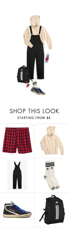 """""""hausverbot"""" by beowulf ❤ liked on Polyvore featuring Old Navy, Topshop, Monki, adidas, Golden Goose, men's fashion, menswear and yascha"""