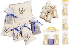 Our Linen Collection of Lavender and Lavandin sachets are beautiful as gifts or to place around your home.