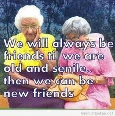 funny old people jokes - Snelson Artzer Haha to my BFF Jess Old People Jokes, Great Quotes, Funny Quotes, Funny Memes, Best Friend Quotes Funny Hilarious, Funny Stuff, Bff Quotes, Girl Quotes, Funny Things