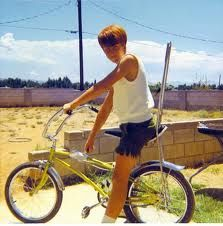 Remember the weird friend of the neighbor kid? Yeah, I made out with him too. Crashing my banana seat bike down memory lane.