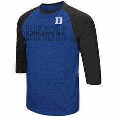 08f6e1b153d0 Duke Blue Devils Adult NCAA Steal Home 3 4 Sleeve Shirt - Royal