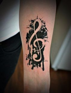 Music Tattoos on Pinterest | Music note tattoos, Sheet music tattoo ...