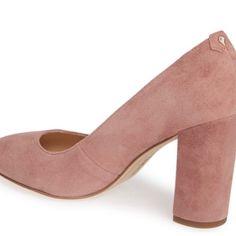 9c79b29bc Sam Edelman Shoes | Stillson Pump Dusty Rose Suede | Poshmark