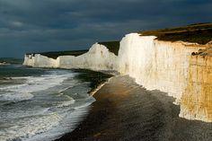 Seven Sisters, Eastbourne, East Sussex, England (via midlander1231)