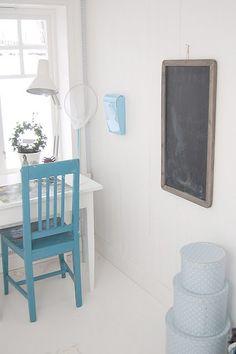 Cameretta svedese in azzurro