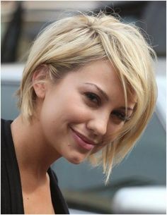 Beautiful Short Blonde Pixie Haircut Women short-blond-haircut-
