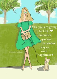 Yes You are going to be OK  Cards for by RoseHillDesignStudio