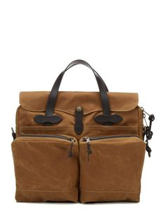 Tin Cloth Briefcase by Filson at Gilt