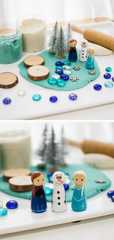 Dec 2019 - Do you know any little Frozen fans? Our DIY Frozen Play dough kit is the perfect gift for all the Anna, Elsa & Olaf enthusiasts out there! Craft Kits For Kids, Diy Gifts For Kids, Diy For Kids, Crafts For Kids, Homemade Kids Gifts, Frozen Playdough, Homemade Playdough, Play Doh Kits, Frozen Crafts