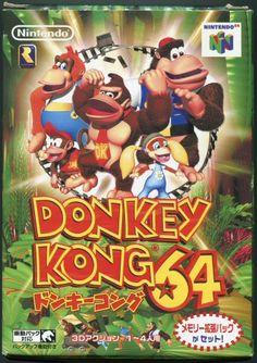 Super Nintendo, Nintendo 64, Donkey Kong 64, Donkey Kong Country, Video Game Art, Video Games, Mundo Dos Games, Game Info, Room Posters