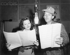 Bing Crosby and Judy Garland