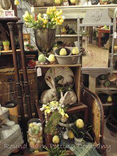 Round Barn Potting Company: feed the chicks